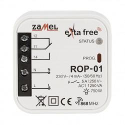 Exta Free - Radiowy odbiornik puszkowy 1-kanałowy 230V - ROP-01