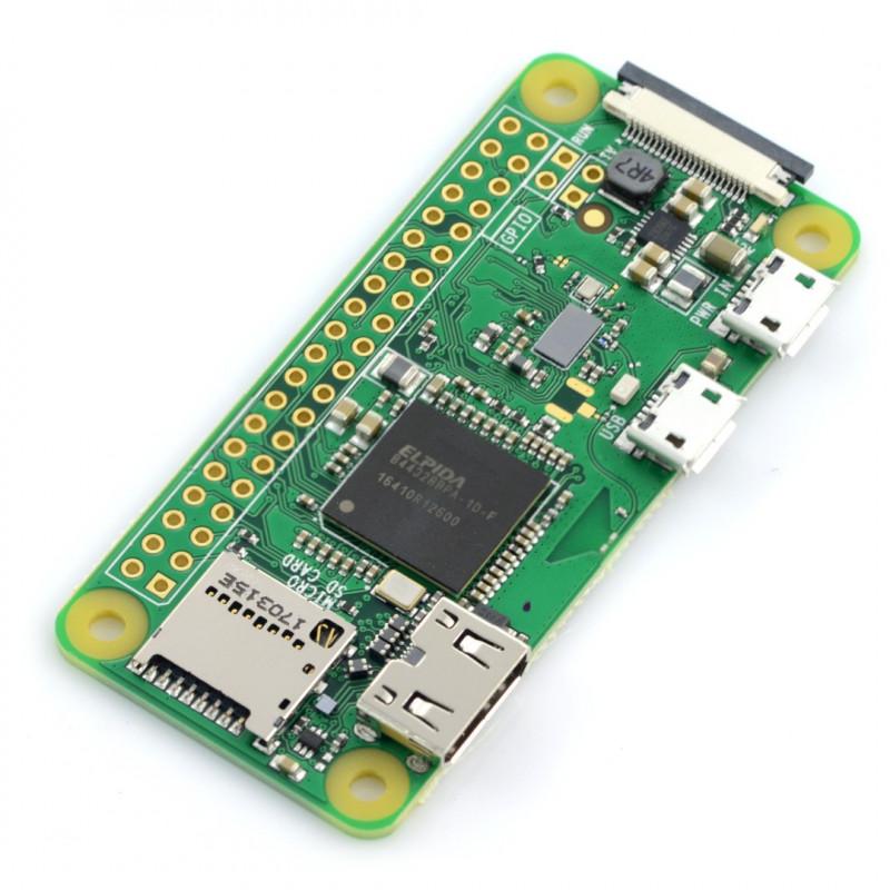 Raspberry Pi Zero W 512MB RAM - WiFi + BT 4.1