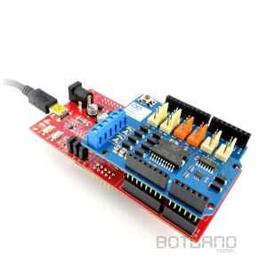 Embedded Pi z nakładką Arduino Motor Shield