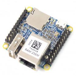 NanoPi NEO v1.1 - Allwinner H3 Quad-Core 1,2GHz + 256MB RAM