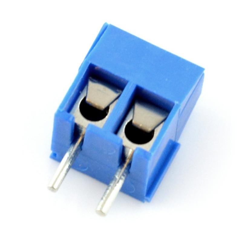 ARK connector KF301 raster 5.0mm 2 pin (-)*