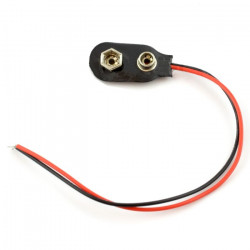 Clip for battery 9V (6F22)