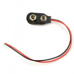 Klip na baterię 9V (6F22)