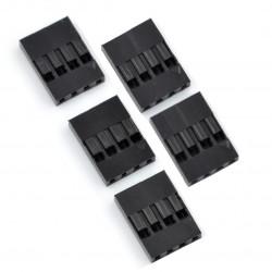 Złącze typu BLS - gniazdo 4x1 + piny - 5szt.
