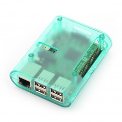 Obudowa Raspberry Pi Model 3B+/3B/2B - zielona