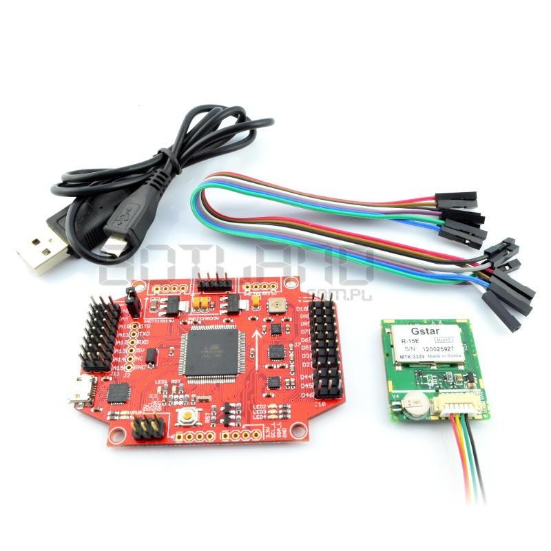 Kontroler lotu MultiWii Pro w/MTK + moduł GPS MTK 3329