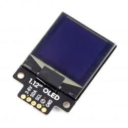 Pimoroni Mono OLED - wyświetlacz monochromatyczny graficzny 1,12'' 128x128px - I2C