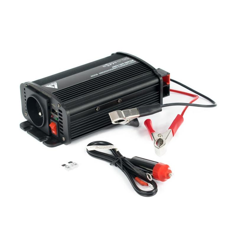 AZO Digital DC / AC Step-Up Voltage Regulator IPS-800U - 24VDC / 230VAC 800W - car