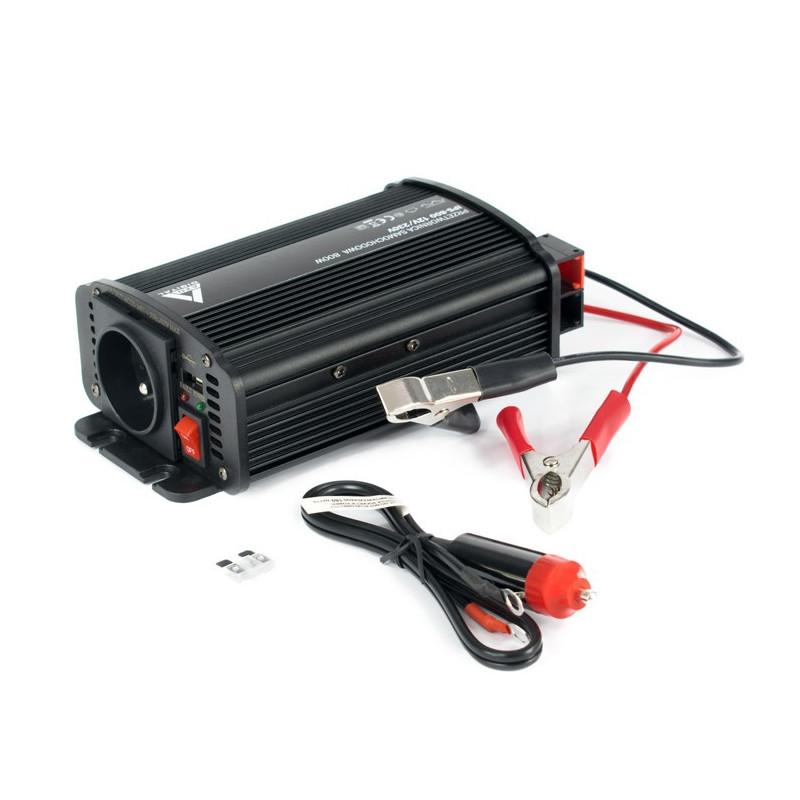 Przetwornica DC/AC step-up AZO Digital 12VDC / 230VAC IPS-800U 800W - samochodowa