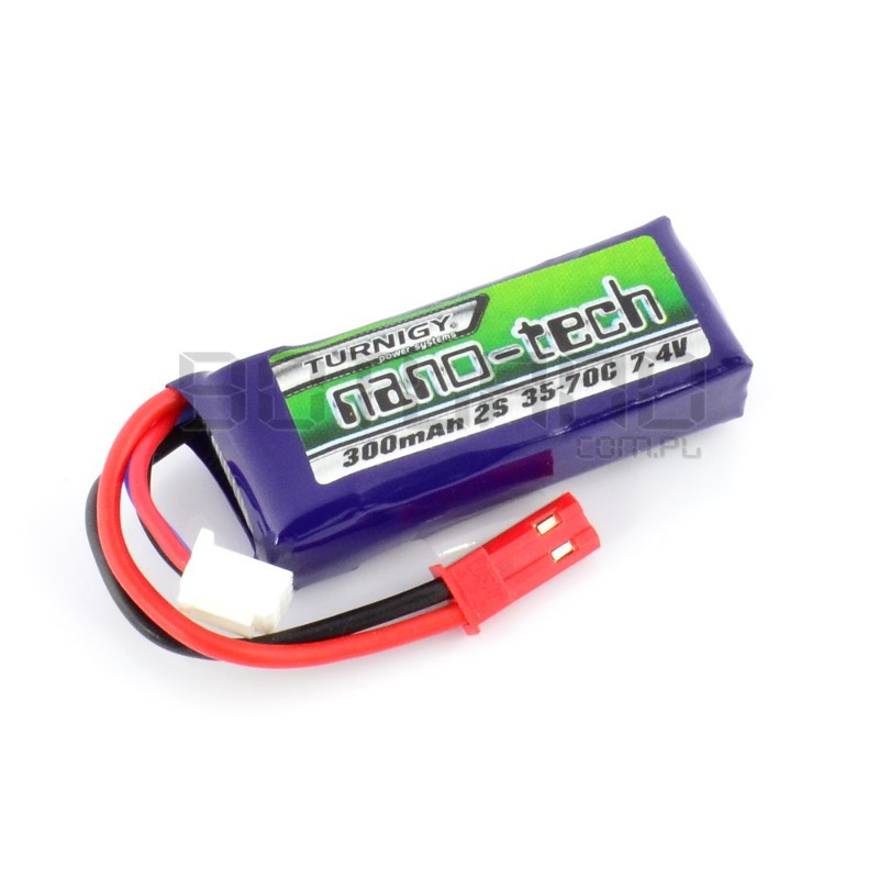 Turnigy nano-tech Li-Pol battery pack 300mAh 35C 2S 7.4V