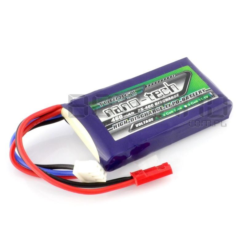 Turnigy nano-tech Li-Pol battery pack 460mAh 25C 2S 7.4V