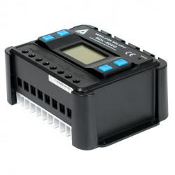Solarny regulator ładowania AZO Digital PWM SOL-30ED 12/24 - 30A z wyświetlaczem LCD