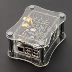 Obudowa Raspberry Pi 3B+/3B/2B i do DigiOne Signature - przezroczysta