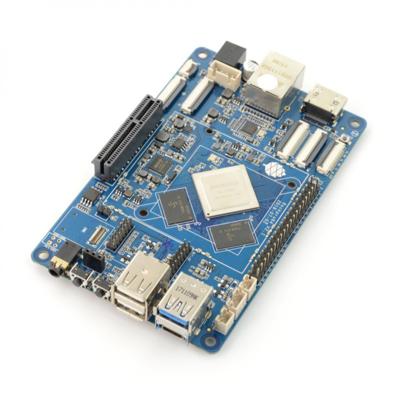 Pine64 ROCKPro64 - Rockchip RK3399 Cortex A72 / A53 + 2GB RAM_