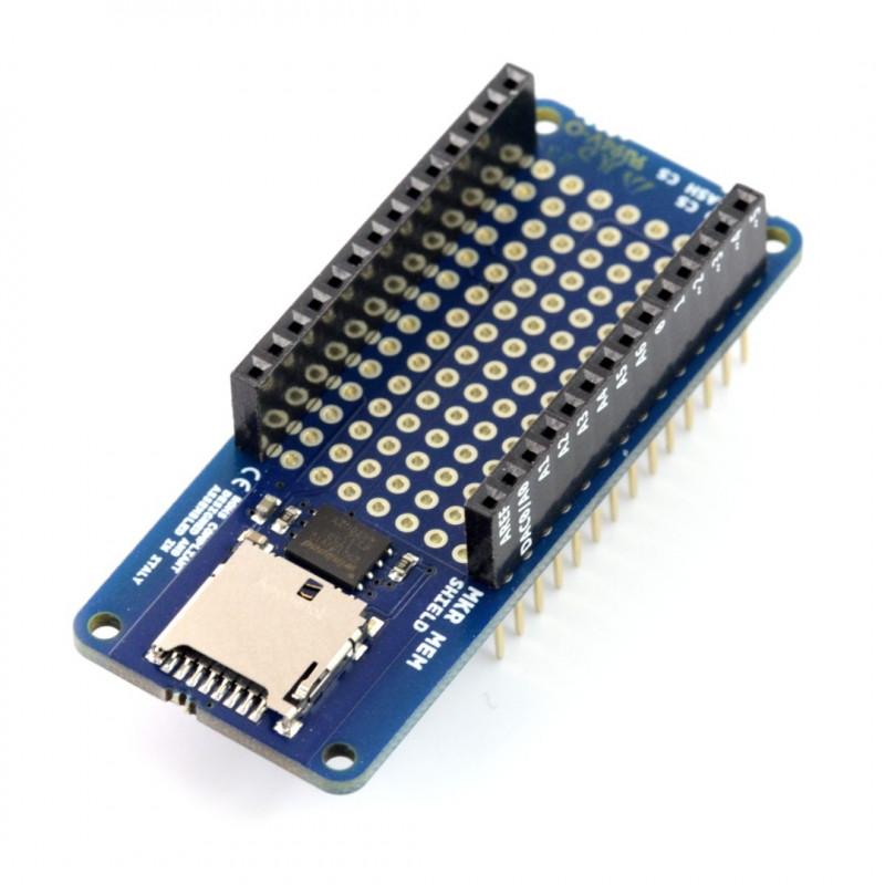 Arduino MKR MEM Shield ASX00008 - nakładka dla Arduino MKR