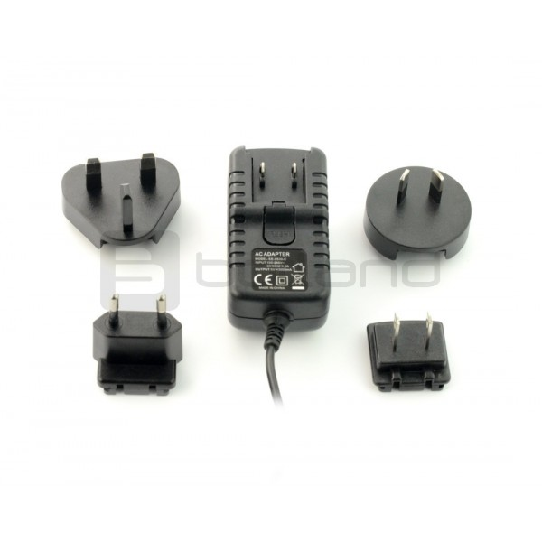 Power supply 5V/3A - DC plug 3,5mm for ROCK64 minicomputers_