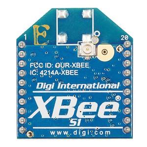 Moduł XBee 1mW u.FL - Series 1 (802.15.4)