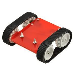 Gąsienicowe podwozie robota