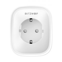 BlitzWolf BW-SHP2 - inteligentna wtyczka Smart Plug z WiFi + pomiar energii - 3840W