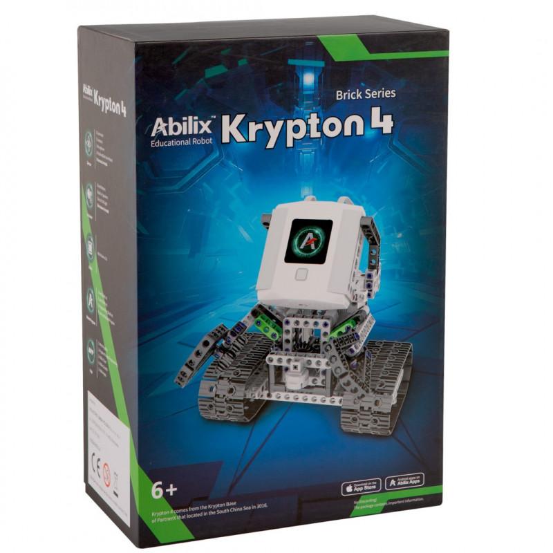 Abilix Krypton 4 - robot edukacyjny STEM - 1,3GHz / 424 klocków do budowy 22 projektów z instrukcjami PL
