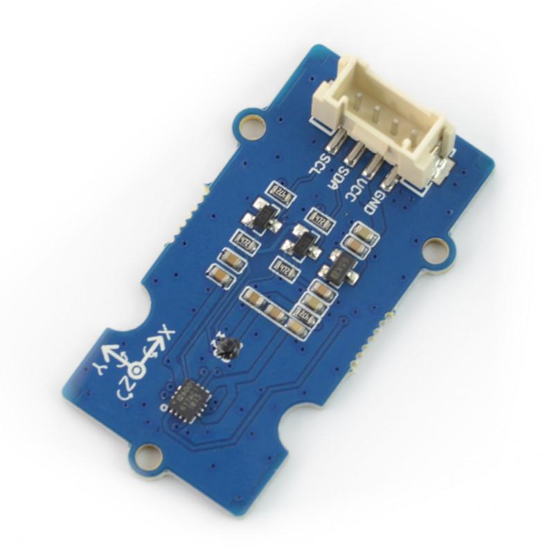 Grove - 3-osiowy akcelerometr, żyroskop i magnetometr - ICM20600+AK09918 - I2C