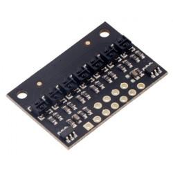 Listwa z czujnikami odbiciowymi QTRX-HD-07A - analogowa - 7-kanałowa