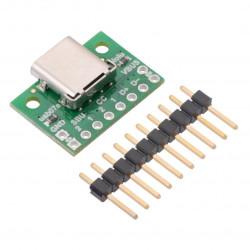 QTRX-HD-07A Reflectance Sensor Array: 7-Channel, 4mm Pitch, Analog Output, Low Current