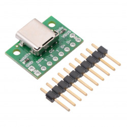 USB 2.0 Typ C - złącze do płytki stykowej - Pololu