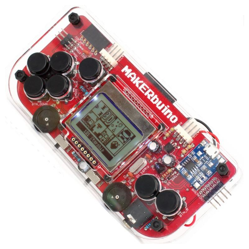 MAKERbuino - portable console DIY KIT + tools*