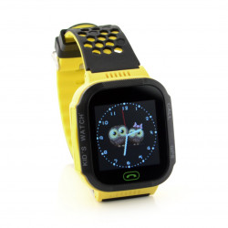 Zegarek Watch Phone Go z lokalizatorem GPS ART AW-K2 - żółty