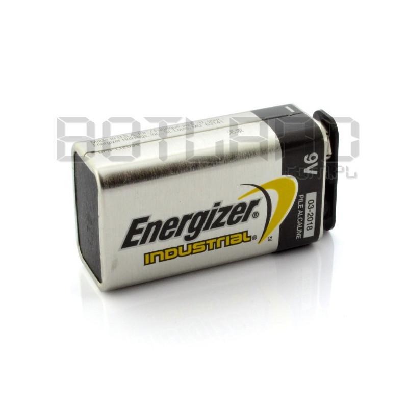 Bateria 9V 6LR61 alkaliczna Energizer Industrial