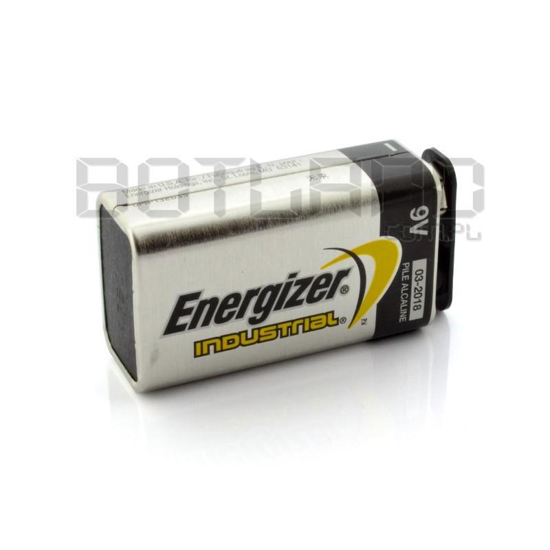 Battery 9V 6LR61 Alkaline Energizer Industrial