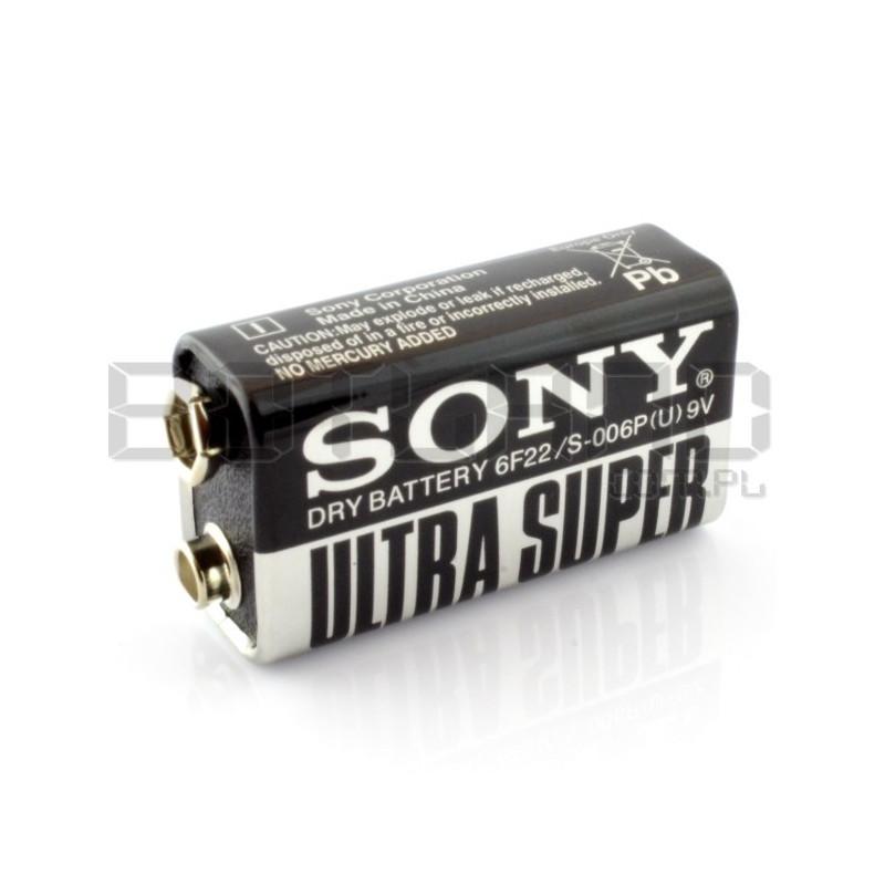Bateria Sony 6F22 9V