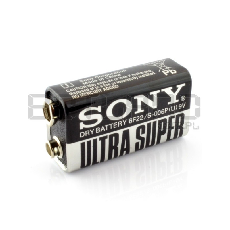 Sony 6F22 9V Battery