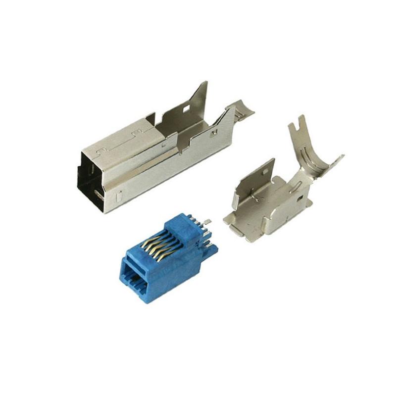 Wtyk USB 3.0 typ B - na przewód