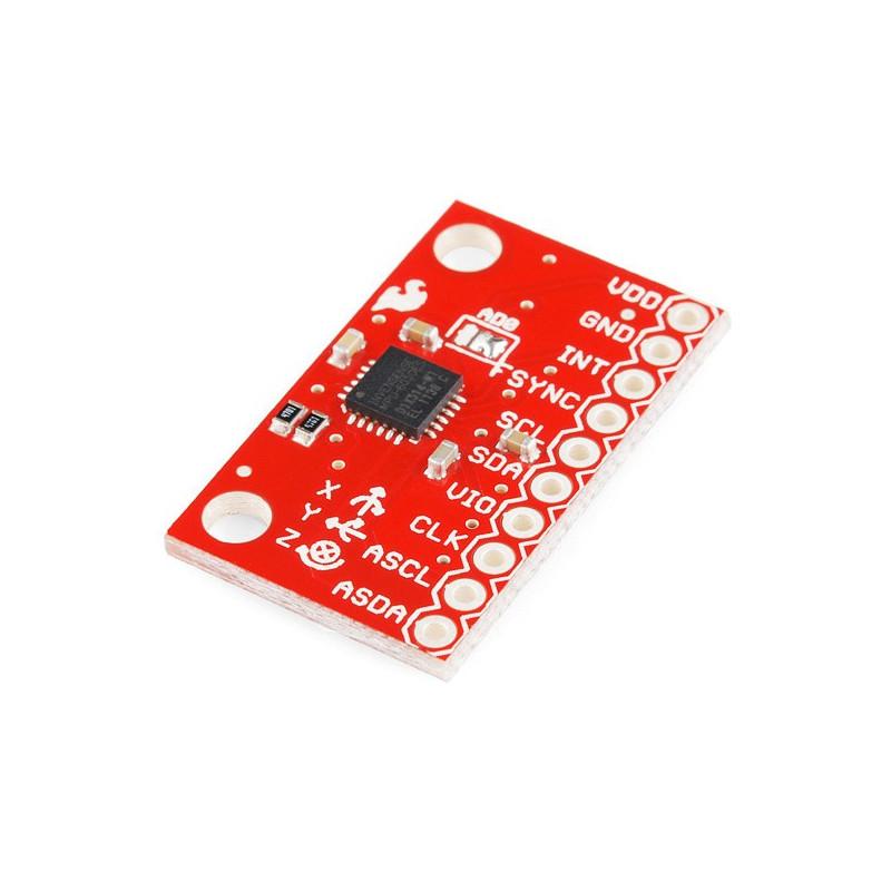 MPU-6050 3-axis accelerometer and I2C gyroscope module - SparkFun SEN-11028*
