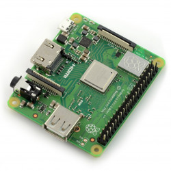 Raspberry Pi 3 model A+ WiFi Dual Band Bluetooth 512MB RAM 1,4GHz