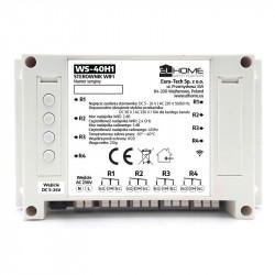 EL Home WS-40H1 - 4-kanałowy przełącznik WiFi / RF 433MHz