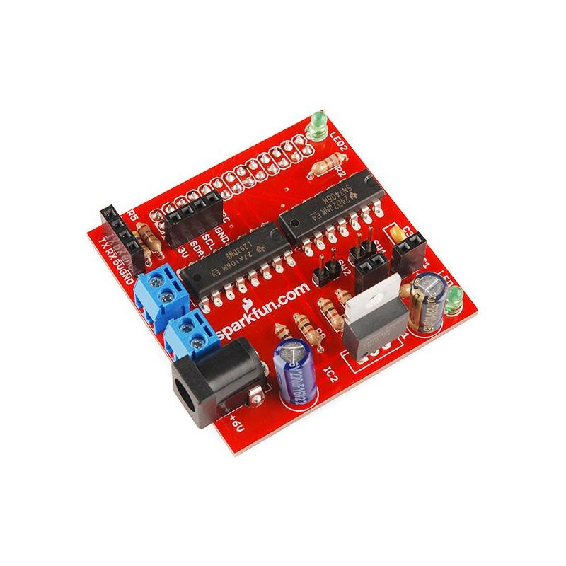 RaspiRobot - robot controller for Raspberry Pi