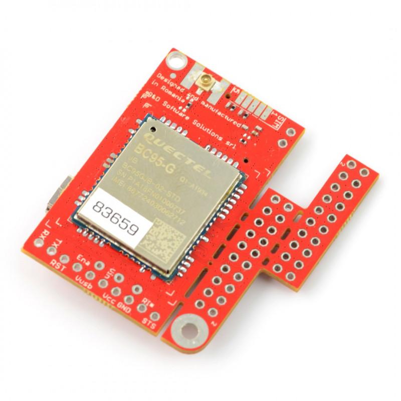 GSM LTE Module IoT-u-GSM shield v2 19 BC95G - for Arduino and Raspberry Pi  - u FL connector*