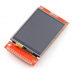 Dotykowy wyświetlacz TFT LCD 2,4'' 240x320px