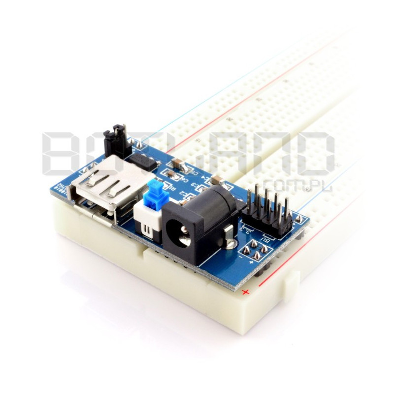 Supply module for A10010 - 3.3V 5V contact plates