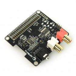 HiFiBerry DAC+ ADC - karta dźwiękowa do Raspberry Pi 3/2/B+/A+/Zero