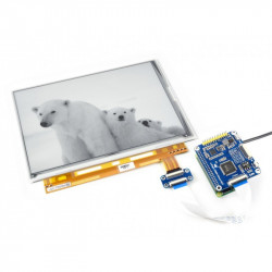 9.7inch e-Paper HAT IC Test Board