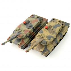 Zestaw wzajemnie walczących czołgów - Leopard - 1:24
