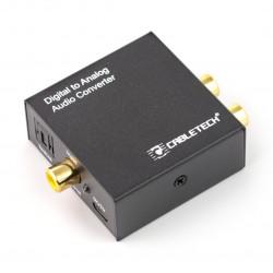 Złącze konwerter sygnału cyfrowego na analogowy