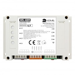 EL Home WS-45H1 - 4-channel 433MHz WiFi / RF switch