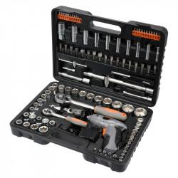 Zestaw narzędziowy Sthor 58695 - 109 części