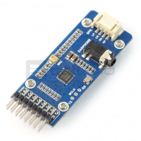 Waveshare WM8960 - odtwarzacz audio I2S I2C