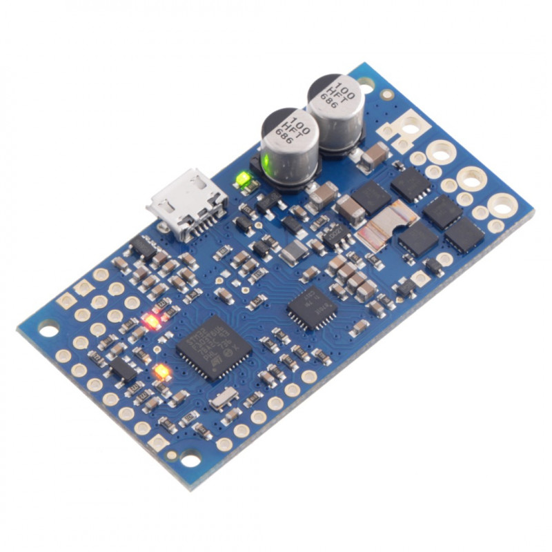 Pololu High-Power Simple Motor Controller G2 24v12 - sterownik silnika 40V/12A